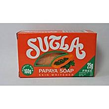 Sutla Papaya Soap Skin Whitener (with Kojic Acid) -  160g.