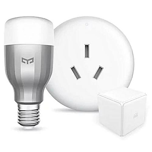 Xiaomi Smart Home Devices Yeelight RGBW E27 LED Bulb Mi Home Air  Conditioner Companion Magic Controller
