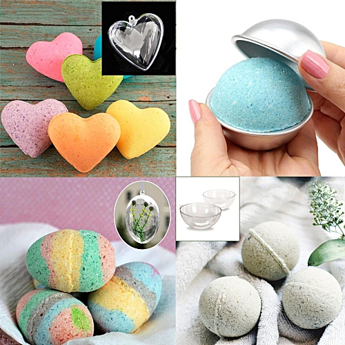 Bath & Shower Dedicated 1pc Round Kitchen Bathroom Accessories Cake Moulds Baking Pastry Chocolate Plastic Sphere Bath Bomb Water Ball Spare No Cost At Any Cost