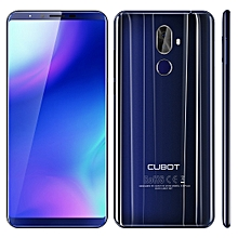 CUBOT X18 Plus, 4GB+64GB, Dual Back Cameras, Fingerprint Identification, 4000mAh Battery, 5.99 inch Android 8.0 MTK6750T Octa-Core up to 1.5GHz, Network: 4G, Dual SIM(Blue)