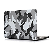 """13"""" Pro With CD-ROM Case, Urban Camouflage Hard Rubberized Cover For 2008-2012 Macbook Pro 13.3 Inch, Grey"""