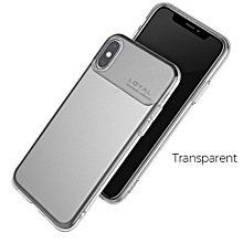 Anti-Scratch Transparent TPU Protective Phone Case Cover For IPHONE XS, XS Plus, 9 Clear