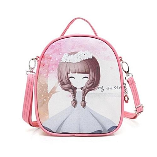 e026694dbb Generic Children Shoulder Bag Girls Travel Bag Mini Kindergarten Cartoon  Cute Baby Girl Backpack 17×9×20cm