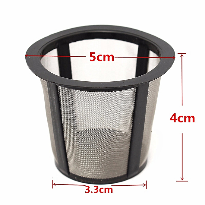 Coffee Filter Set Housing 3 Extra Filters K Cup Reusable For Keurig