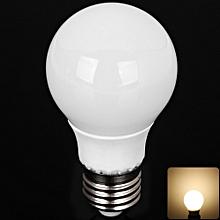 YouokLight E27 5W SMD-5730 Ceramic Covered Warm White 10-LED Globe Bulb - 3000K 85-265V 420LM -WARM WHITE