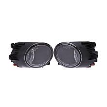 L&R Front Bumper Driving Fog Grill Lights Lamp For Audi A4 B6 02-05 03 04 Sedan