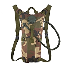 3L Water Bag Pouch Knapsack Tactical Camp Hydration Backpack Camelback   jungle