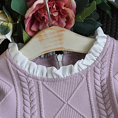 acd6be7a316daa MUYI Kids Baby Girls Knitted Sweater Winter Pullovers Crochet Tutu Dress  Tops Clothes