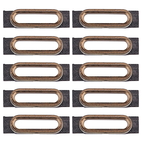 9b51f38a63003 10 PCS for iPhone 7 Charging Port Retaining Brackets(Gold)
