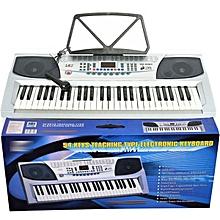54 Keys electronic keyboard-Silver