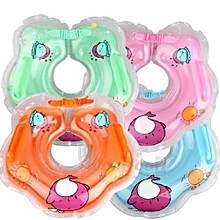Safety Inflatable Swimming Neck Ring For Infant Child - Random Color
