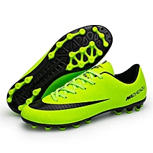 Fashion World Cup Football Soccer Competition Training Sports Shoes-Green