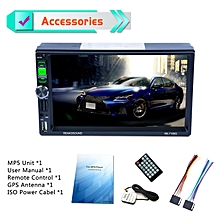 "7159G 7"" Car MP5 GPS Navigator Bluetooth FM/RDS Radio Car Multimedia Player black"