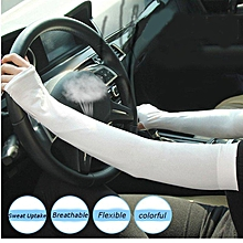 Sunscreen Summer Driving Sleeve UV Resistant Sun Protection Arm Cuff Cover