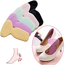 1Pair Soft Silicone High Heel Foot Care Cushion Shoe Insert Dance Insole Pads