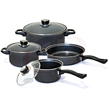 7 PCS non stick  Cookware Set median thickness