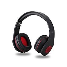 AH862 - Wireless&Wired Business Headphone Bluetooth - Black
