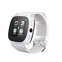 MY-T8 HD 2MP Camera 1.5 Inch TFT LCD Touch Screen Bluetooth Sports Smart Watch white