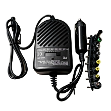HP-Universal 80W DC Car Charger Power Adapter For Laptop Notebook Computer PC black