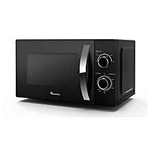 RM/557-20LT Manual Microwave- Black