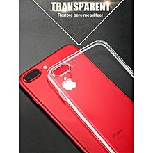 iPhone X/8/8 Plus/7/7 Plus/6S/6S Plus/6/6 Plus/5/5S/SE Phone Cover Ultra Thin Case Transparent____IPHONE 7____transparent