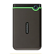 500 GB--TRANSCEND External Hard Drive M3 - 500GB - USB - Black