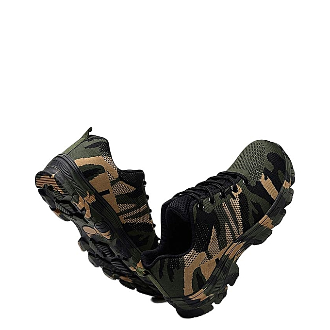 Fashion Men Steel Toe Safety Boots Hiking Outdoor Work Shoes Best