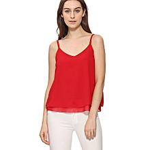 Generic Women Summer Chiffon Vest Top Sleeveless Blouse Casual Tank Loose Tops T-Shirt A1