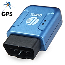TK206 Car OBDII Interface GPS GPRS Tracker with Geo-fence Function-BLUE