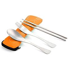 Three-piece Outdoor Cutlery