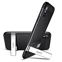 ESR Urbansoda Simplace Series PC + TPU Protective Case for iPhone XS / X , with Metal Holder (Black)