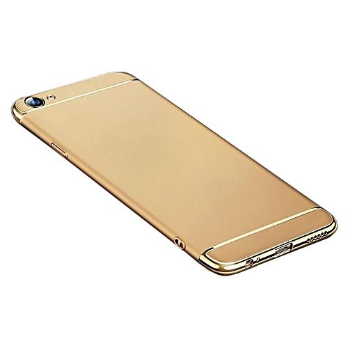 on sale f45c3 0eb90 For OPPO R9S Hybrid 3 In1 Phone Case Hard Plastic/PC Matte Protective Back  Cover Fingerprint-proof Phone Shell