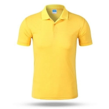2018 Newest Customized Fashion Men And Women Available Summer Polo Shirts-Yellow