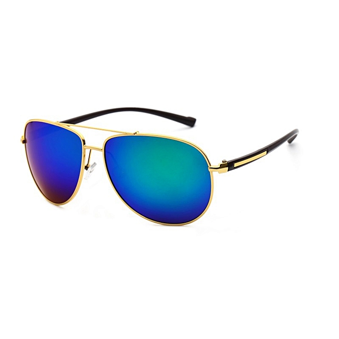 0c36cebc22a VEITHDIA 2362 Men s Brand Designer Sunglasses Polarized TR90 UV400 Gold  frame blue lens for Men XXZ