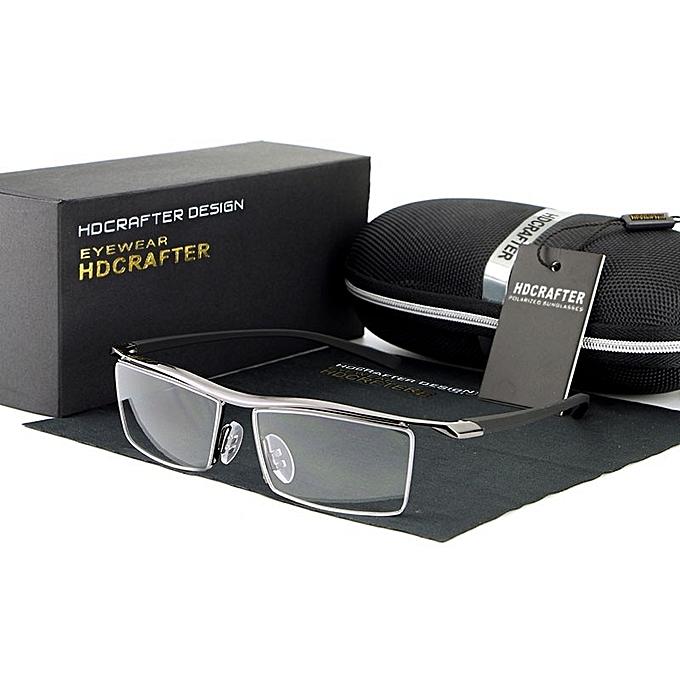 68810de16ba Hot sale Eyewear Rimless Square Myopia Glasses Frame Men Brand Comfortable  Slip-resistant Eyeglasses Frames