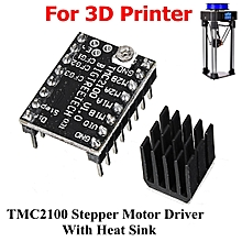 5Pcs MKS TMC2100 Stepper Motor Driver Board Ultra-quiet Drive with Heat Sink for