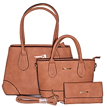 3 in 1 Elegant, Classic and Fashionable Women's Hand Bag