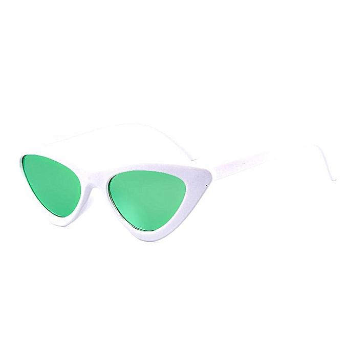 Buy Sunshine Women Fashion Triangle Cat Eye Shaped Sunglasses UV 400