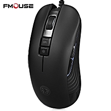 FMOUSE F600 Wired Gaming Mouse with LED Light 5000DPI
