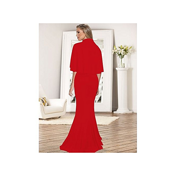Hot Women S Evening Dresses One Piece Dress Sling Fish Tail Trailing Y