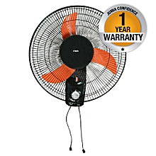 "MFW181/OB - Wall Fan, 18""  - Black & Orange"