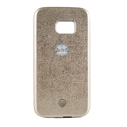 differently fc1a0 ac6b0 Samsung S6 LED Cover - Gold