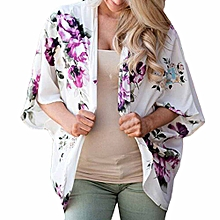 Generic Women  Floral Cover Casual Blouse Tops Loose Kimono Cardigan Capes A1
