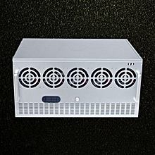 Crypto Coin 12 Graphics Mining Miner Frame Rig Case For ETH Currency Rigs Holder