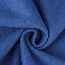 Supper Home Winter Warm Fleece Snuggie Blanket Robe Cloak With Sleeves-Blue