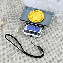 Electronic Scale Weighting Jewelry Blue Light Including English Battery Operated