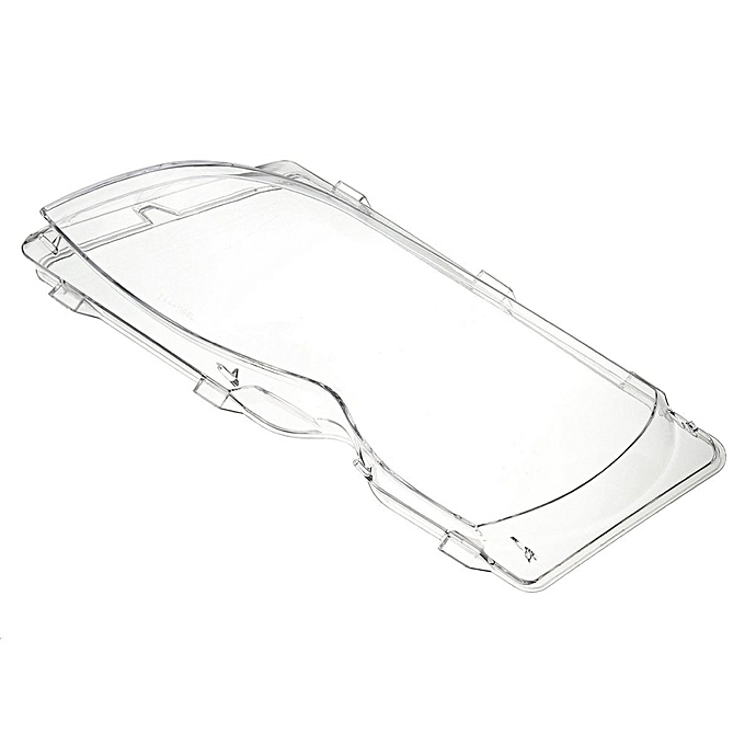 Universal Driver Side Left Headlight Clear Lens Plastic Cover For