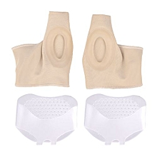 4Pcs Bunion Socks Silicone Foot Pads Pain Relieve Toe Valgus Correction Means Sets Feet Care Tools