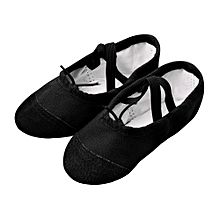Canvas Ballet Pointe Dance Shoes Fitness Gymnastics Slippers for Kids Children