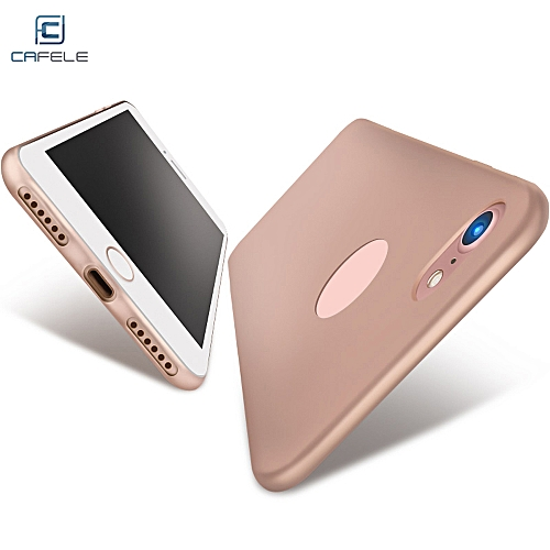 Touch Series Case Protective TPU Skin For IPhone 7 - Rose Gold